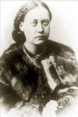 Е.П. Блаватская около 1860 года