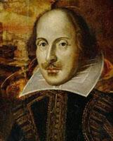 Единственное достоверное известное изображение - гравюра из посмертного «Первого Фолио» (1623) работы художника голландского происхождения Друшаута.