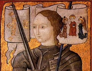 Жанна - дева, прижизненное изображение