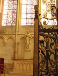 Рака с мощами Жанны д`Арк