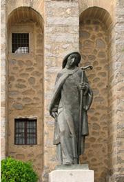 Святая Тереза Авильская. Скульптура