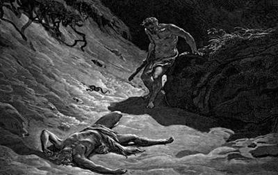 Смерть Авеля. Иллюстрация Гюстава Доре