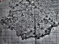 Крымские пирамиды - расположение