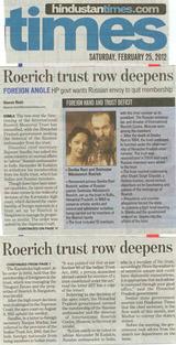 Фото одной из статей в газете по поводу ситуации в Наггаре