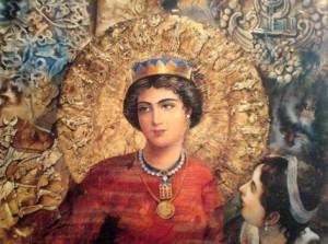 Заратуштра в музее  парсов в Мумбае