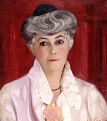 С.Н. Рерих.  Портрет Е. И. Рерих. 1937