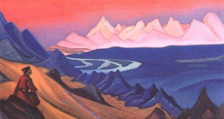 Фрагмент картины Н.К. Рериха