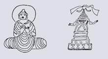Буддийские наскальные изображения из Пакистана (VI – VII в.в. н.э.)