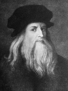 Окружающая Леонардо завеса таинственности распространяется и на его внешний облик. Леонардо не создал своего автопортрета в молодые годы; до нас дошел лишь его рисованный автопортрет в облике старца.      В прежние столетия высказывалось предположение, что учитель Леонардо Вероккьо, создатель бронзовой скульптуры «Давид с головой Голиафа», наделил Давида прекрасным лицом юного Леонардо, но, конечно, это следует рассматривать только как легенду – не более того.  Помимо единственного рисованного автопортрета Леонардо в пожилом возрасте есть еще портрет художника в среднем возрасте, хранящийся в Уффици. Авторство этого портрета неизвестно; предполагается, что портрет был выполнен кем-то из круга Леонардо.