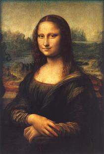 Леонардо да Винчи. Мона Лиза (Джоконда).1514 - 1515