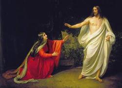 Александр Иванов. Явление Христа Марии Магдалине после Воскресения