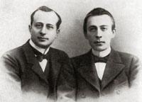А. И. Зилоти и С. В. Рахманинов (1902)
