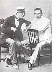Рахманинов и Шаляпин