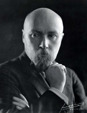 Николай Константинович Рерих. Чикаго. 1921.