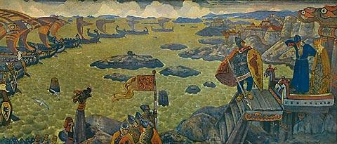 Варяжское море (Выступление в поход).1910
