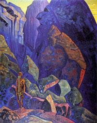 Н.К. Рерих.  Экстаз.1918