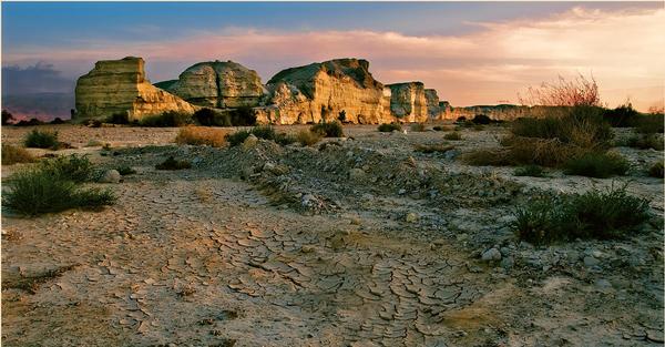 Пустыня Арава. Израиль