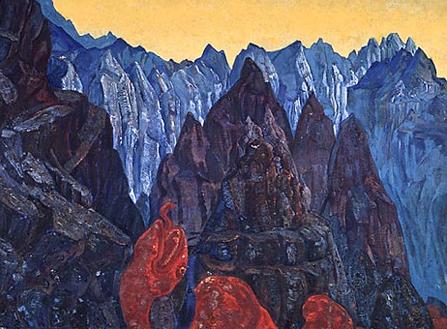 Н.К. Рерих. Крик змия. 1914