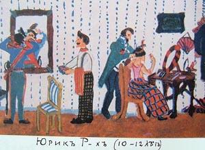 За кулисами. 1912-1914