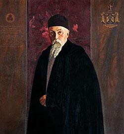 С.Н. Рерих. Портрет Н.К. Рериха. 1936
