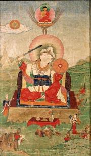 Калкин Шамбалы - Держатель Колеса. Восточнй Тибет, XVIII в.