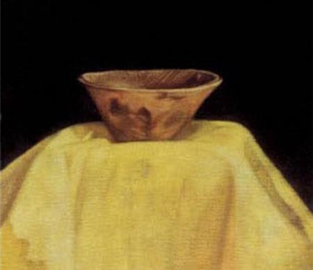 С.Н.Рерих. Фрагмент картины Чаша Будды.