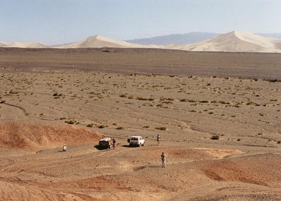 Самые большие барханные пески Монголии - Хангорын-Элс