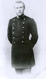 Николай Константинович Рерих в университетской форме. 1898
