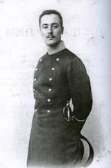 Степан Степанович Митусов в университетской форме. 1898-1904.