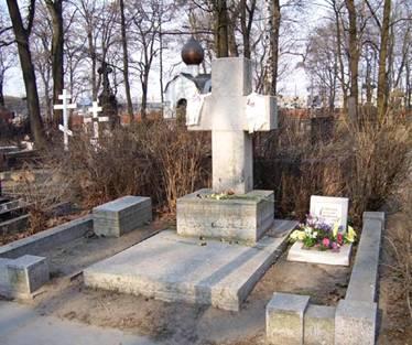 Могила Льва Гумилева