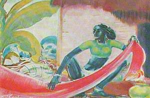 Мое красное сари. 1960