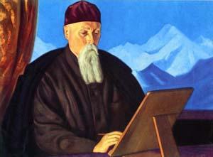 Портрет Н.К. Рериха. 1938