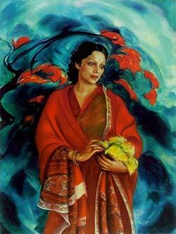Девика Рани Рерих. 1951