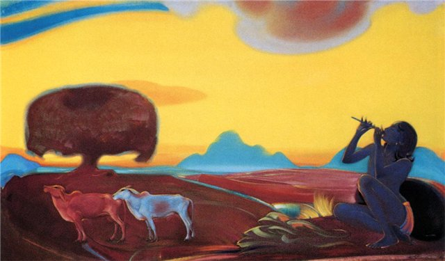 Волшебная флейта (3). 1955