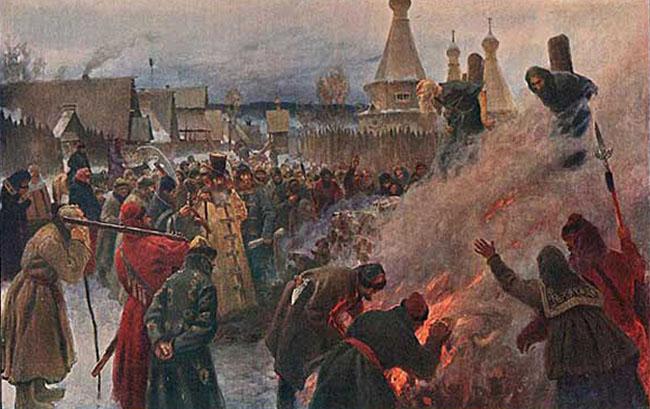 Преступления и инквизиция РПЦ