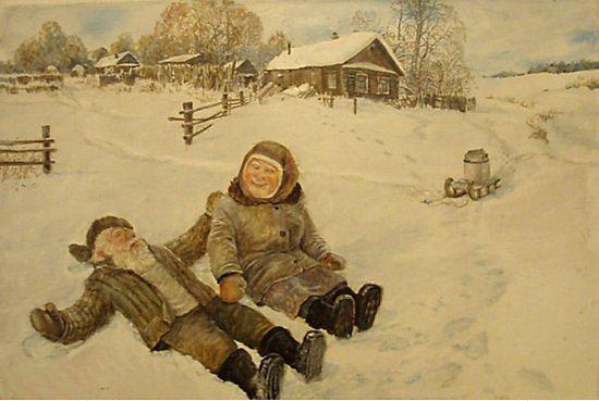 Леонид Баранов. Жили-были дед да баба.