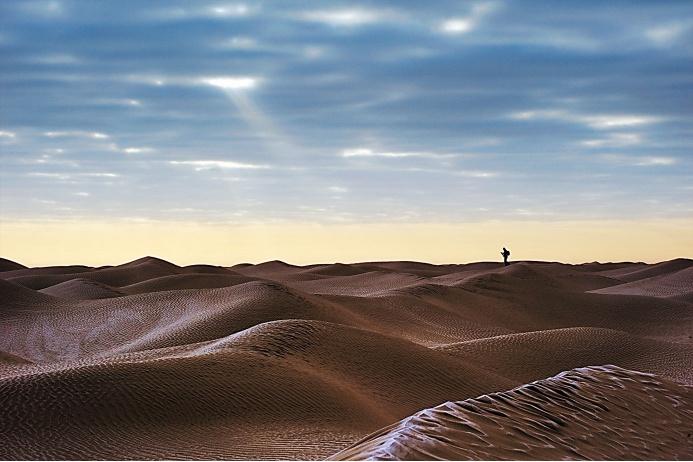 Пустыня Такламакан