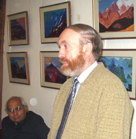 Выступление Евгения  Палладиевича в Дели