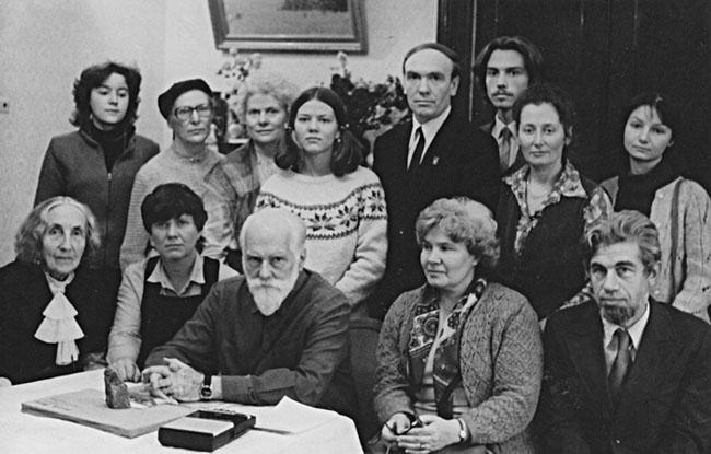 Встреча с сибиряками - 1974 год.