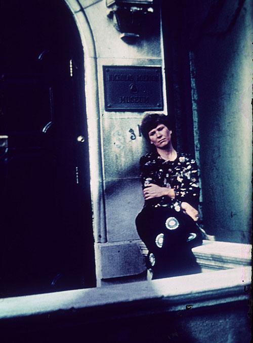 Людмила Андросова. Прощание с музеем. Нью Йорк. 1978