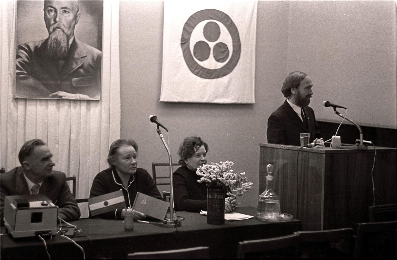 П. Ф. Беликов, Л. В. Шапошникова, М. И. Качальская, Е. П. Маточкин.