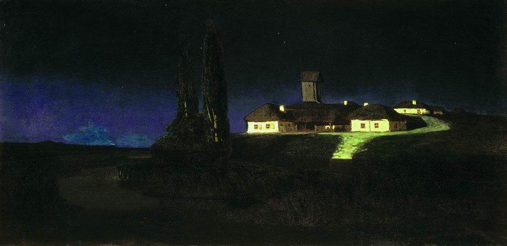 Куинджи А.И. Украинская ночь