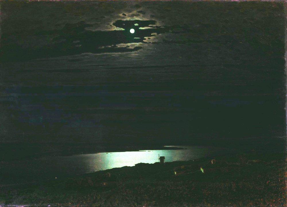 А.И. Куинджи. Лунная ночь на Днепре