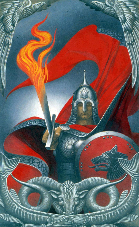 Огненный меч. 1974.