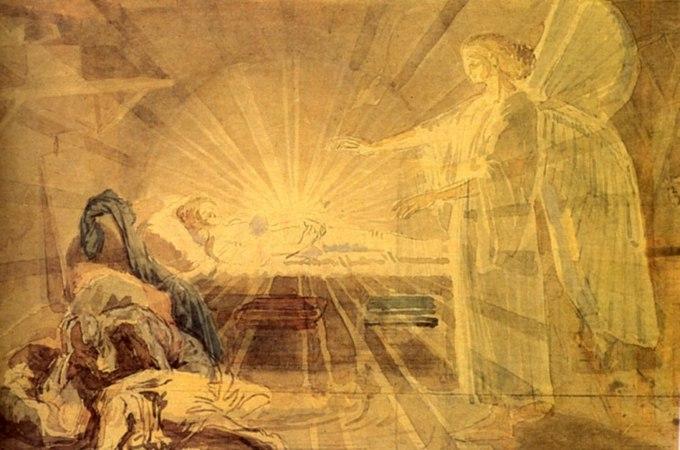 Сон Иосифа. Александр Андреевич Иванов. 1850.