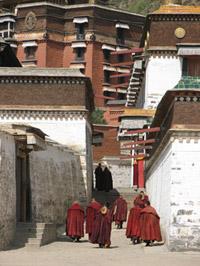 Монастырь Лобран. Тибет