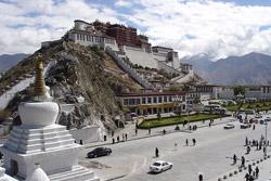 Потала.Лхаса.Тибет