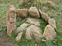 Каменная могила скифско-сибирской культуры