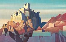 Н.К.Рерих. Замок в Ладаке. 1933