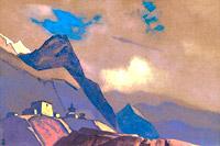 Н.К.Рерих. Тибет У Брахмапутры.1936
